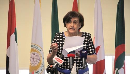 مراسم احتفال انتقال رئاسة المجلس الأعلى لمنظمة المرأة العربية