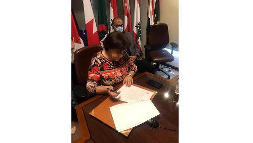 منظمة المرأة العربية توقع بروتوكول تعاون مع الأكاديمية العربية للعلوم والتكنولوجيا والنقل البحري
