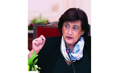 """المديرة العامة لمنظمة المرأة العربية تلقي الضوء على أبرز آثار أزمة """"كورونا"""" على النساء في العالم العربي"""