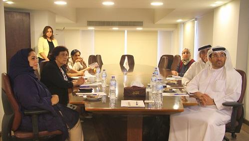 منظمة المرأة العربية تستقبل وفداً من الهيئة العربية للاستثمار والإنماء الزراعي
