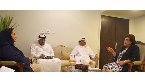 منظمة المرأة العربية تستقبل وفدا من الهيئة العربية للاستثمار والإنماء العربي