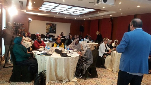 تواصل فعاليات اليوم الثاني للدورة التدريبية لمنظمة المرأة العربية في مجال الأمن ...