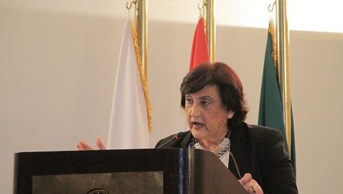 كلمة الدكتورة فاديا كيوان المديرة العامة لمنظمة المرأة العربية في الاجتماع التاسع للمجلس الأعلى للمنظمة: