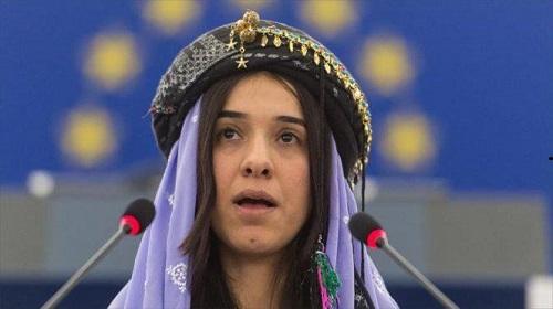 """منظمة المرأة العربية تُهنئ العراقية """"ناديا مراد"""" بجائزة نوبل للسلام"""