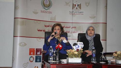 التلاوي في افتتاح ملتقى الشباب: التنمية المستدامة تقوم على الشراكة و وشمول سياسات جميع الأفراد