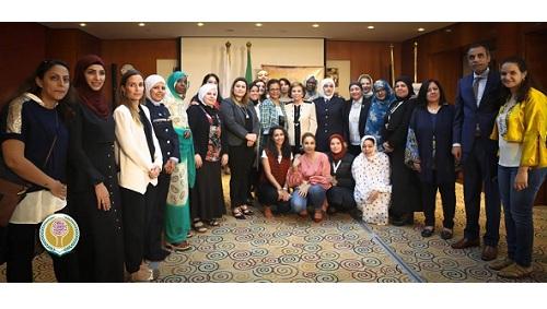 التلاوي: تدعو لتجمع عربي نسائي كبير لنشر الأدوار الجديدة للمرأة