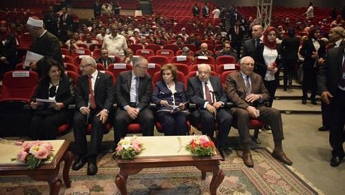 تلاوي تشارك في مؤتمر مواجهه الإرهاب بين الفكر والقانون بجامعة المنيا