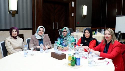 انطلاق فعاليات اليوم الأول للدورة التدريبية المتخصصة للسيدات العربيات في مجال