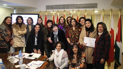 انطلاق أعمال الحلقة النقاشية لمنظمة المرأة العربية حول