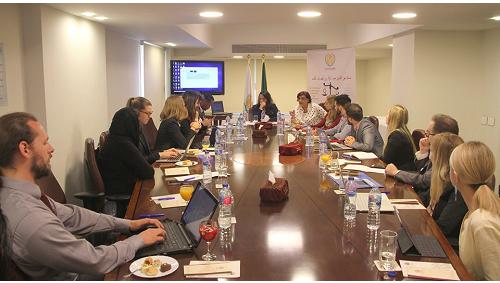 منظمة المرأة العربية تستقبل وفداً من القيادات الشبابية الأوروبية والأمريكية والكندية