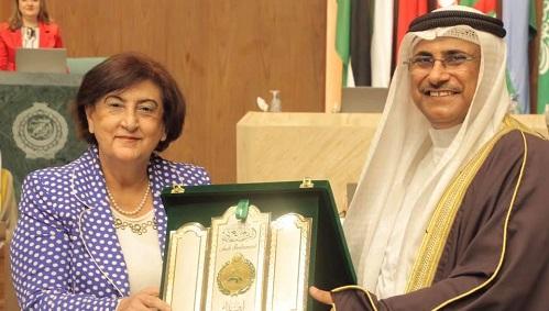 منظمة المرأة العربية توقِّع بروتوكول تعاون مع البرلمان العربي