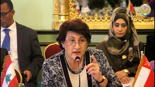 منظمة المرأة العربية تهنئ دكتورة فاديا كيوان